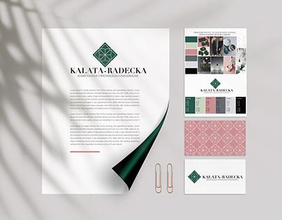 Identyfikacja wizualna dla marki Kalata-Radecka
