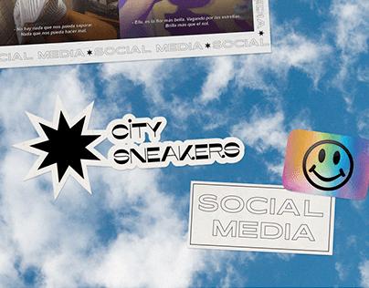 City Sneakers - Social Media