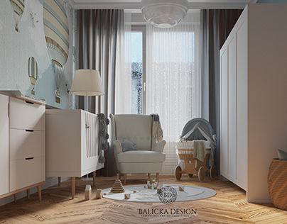 Toddler's room kept in classic style
