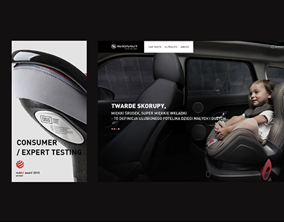 Avionaut - web design