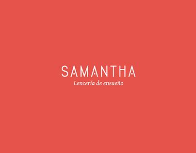 Identidad Corporativa Samantha