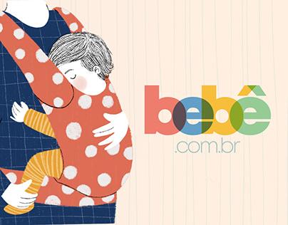 Projeto gráfico para o Instagram da marca bebe.com.br
