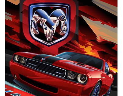 2011 Dodge Challenger 6.1 HEMI Posters