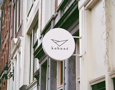 kobuné - logo design