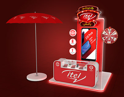 JEETO ITEL PAKISTAN KIOSK DISPLAY