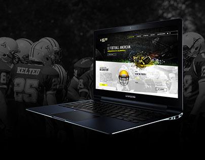 Kelted American Football - Homepage Web