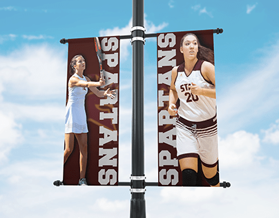 College Campus Banner Mockup