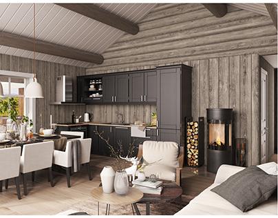 Norway cottage design