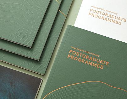 HKSYU: Postgraduate Programme Booklet 2020