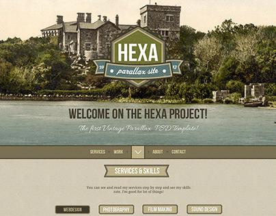 Hexa Webdesign Template