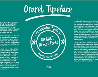 Oraret Typeface