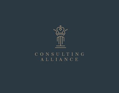 Consulting Alliance Logo & Identity Design