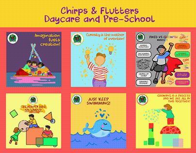Chirps & Flutters Illustrations