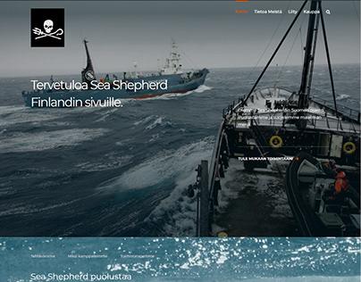 Sea Shepherd Finland's website