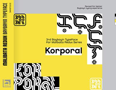 Malibata Redux Baybayin Typeface - Korporal