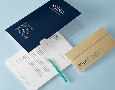 Notavi – Notaires et conseillers juridiques – Branding