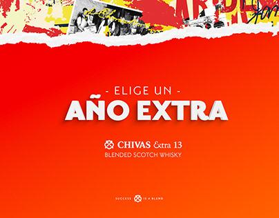 Lanzamiento Chivas Extra 13 Colombia