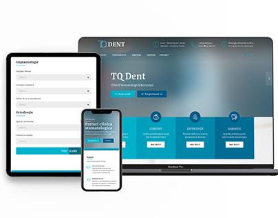 Website Cabinet Dentar