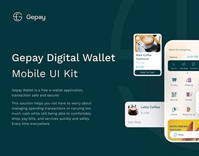 Gepay - Digital Wallet Mobile App