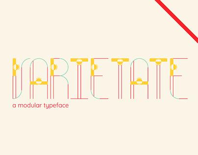 VARIETATE // A Modular Typeface