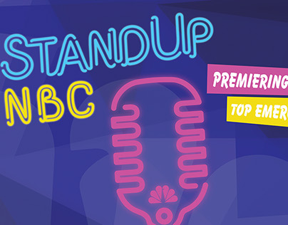 Stand Up NBC various banners