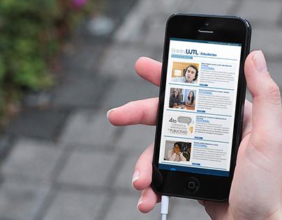 Boletín.UJTL | NewsLetter Interfaces