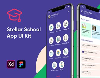 Stellar School App - Student UI Kit