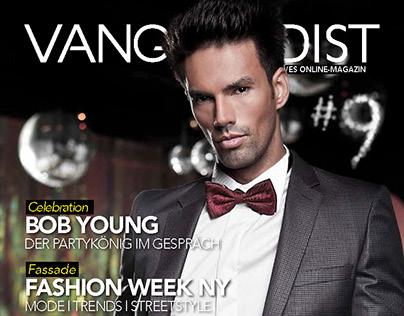 Coverstory for Vangardist Magazine.