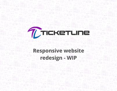 Ticketline Responsive Website Redesign - WIP 02