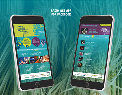 Radio app - Brasil Rural Contemporâneo