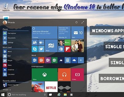 Four reasons why Windows 10 is better than Windows 8