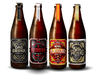 FOKOFPOLISIEKAR CRAFT BEER RANGE