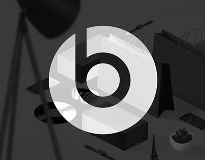 Beats by Dre - Shopping Bag & Box Design