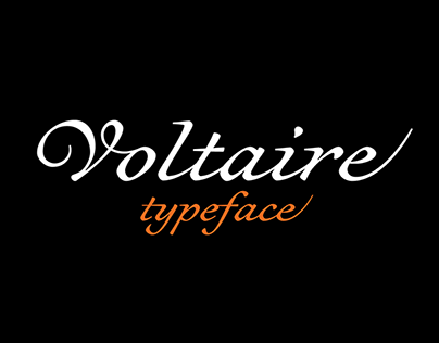 Voltaire (typeface)
