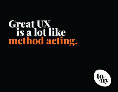 Design advice - Acting