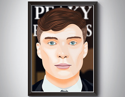 Tommy Shelby (Vector Art)