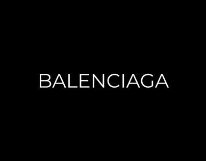 BALENCIAGA — E-Commerce Redesign Concept