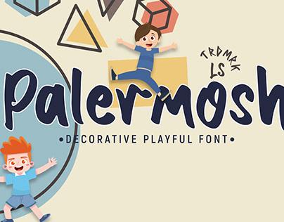 Palermosh | Decorative Playful Font