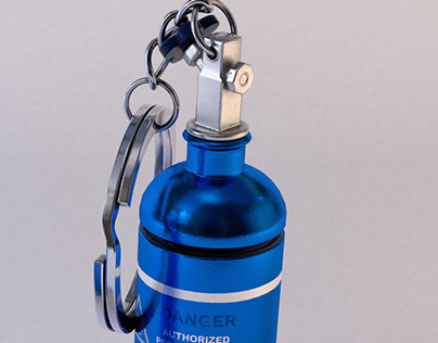 CG-Bottle Nitrous-Key Ring