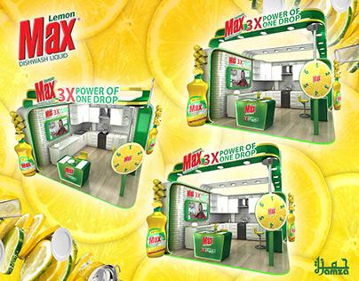 Lemon Max Dishwash Liquid Stand