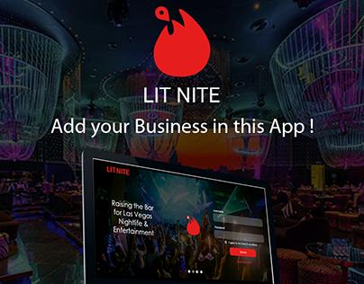 LIT NITE Web App
