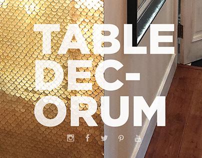 Table Decorum. Upcycled Furniture & Bespoke design