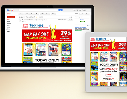 Leap Day Sale Email
