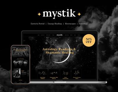Mystik   Astrology & Esoterics Horoscope WP Theme