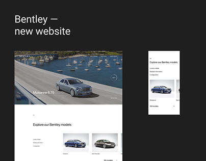 Bentley - new website
