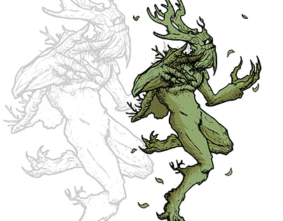 Character Concept: TREE FORM