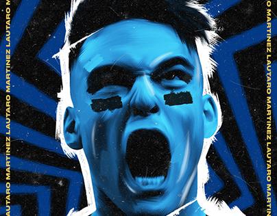 Football Posters | Lautaro Martínez