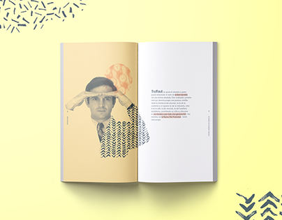 François Truffaut Poster / Film Book Design
