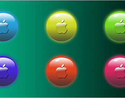 Design Glossy Buttons in Photoshop Web UI element