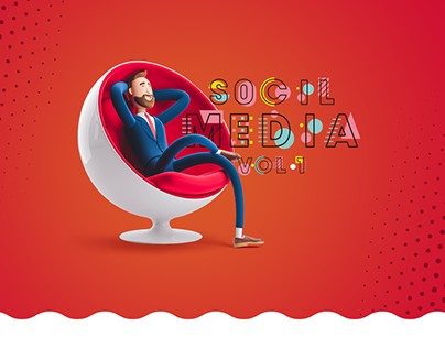 Social Media Design Vol.1 - +200 Design inspiration